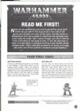 Read Me First! Warhammer 40,000 3rd Edition 1997